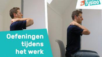 Afbeelding voor Oefeningen om nek en rugklachten te voorkomen