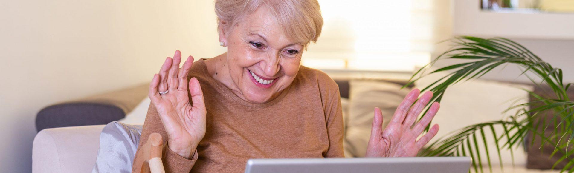 Gymles op afstand voor ouderen